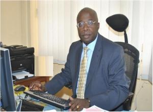 Le Représentant Résident de la Banque Africaine de Développement au Tchad, le Professeur Michel-Cyr DJIENA-WEMBOU
