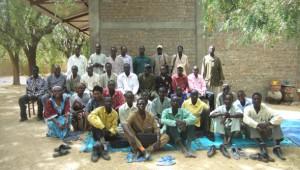 Maitres communautaires à Bitkine photo de Alizée Avril, Chargée du Projets de l'association Foi et Joie Tchad