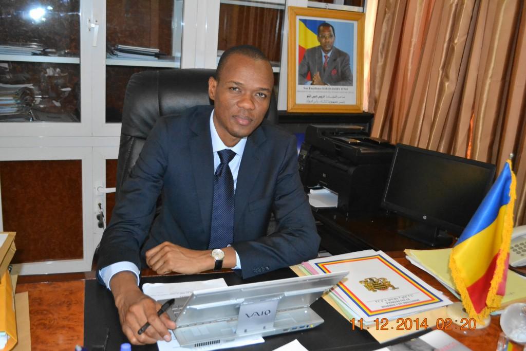 Le Ministre du Pétrole et de l'Énergie Djérassem LE BEMADJIEL