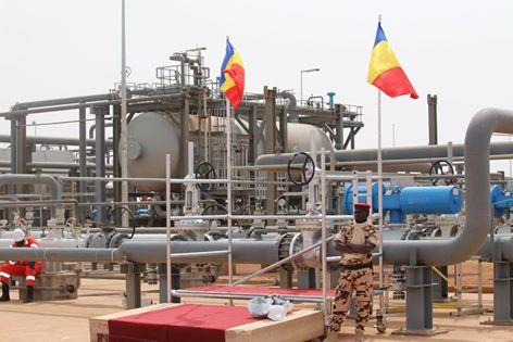 Inauguration des champs pétroliers de Badila en juin 2013